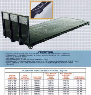 C Steel Platform Structural