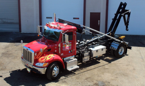 Stellar Truck Lifts manufactures the best articulating tilt and sliding jib hooklifts.