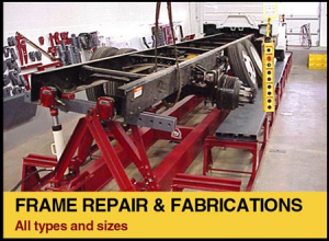Frame Repair & Fabrications - All types and sizes.