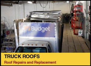 Truck Roofs - Roof repairs and Replacement.