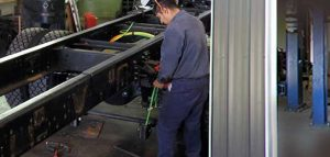 Truck Chassis Repair & Fabrication